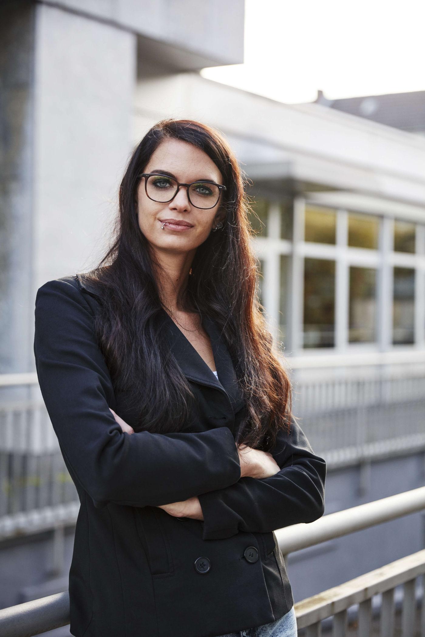 Josephine Beier <br><em>vom DURCHSTARTER Kursausrichter contact im Interview </em>