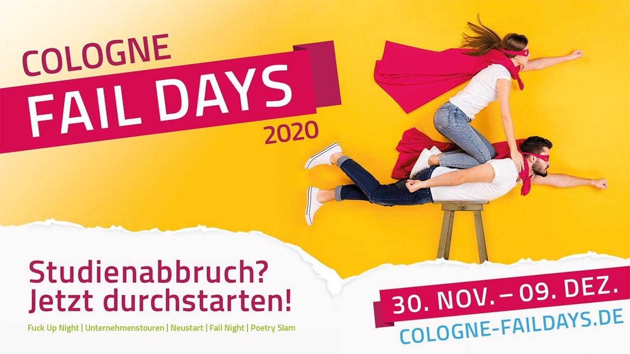 Cologne Fail Days  - <br><em> DIE DURCHSTARTER im Onlinemeeting </em>